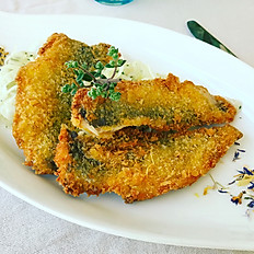 Tempura Sardines of the Gardalake