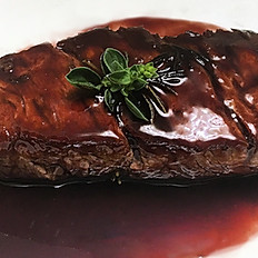 Filet Mignon with Ripasso wine Sauce