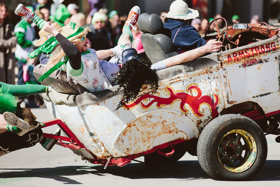 SAINT PAT'S 2017 | AIN'T LOOKIN' FOR NOTHIN' BUT A GOOD TIME