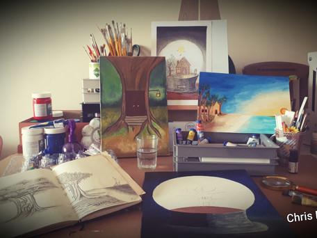 Chris Brazil - vida e arte.