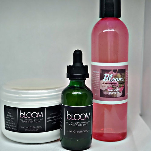 BLOOM Hair Growth System trio pack