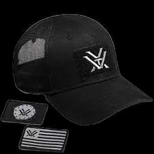 Mens Black Patch Cap