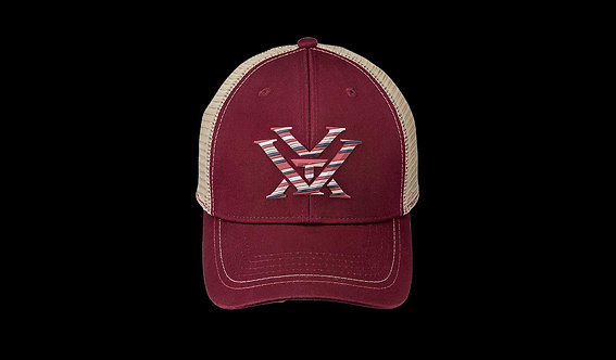 Ladies Maroon Hat