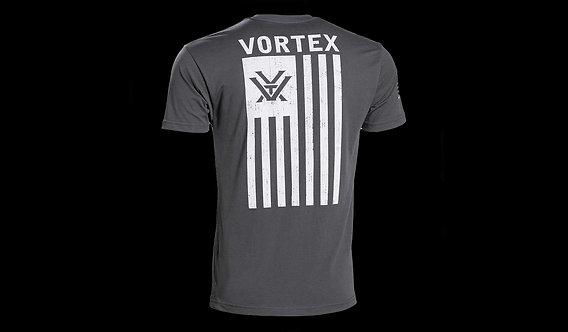 Grey Heather Patriot Short Sleeve T-Shirt