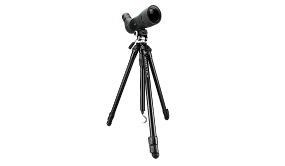 High Country™ II Aluminum Tripod + Pan Head Kit