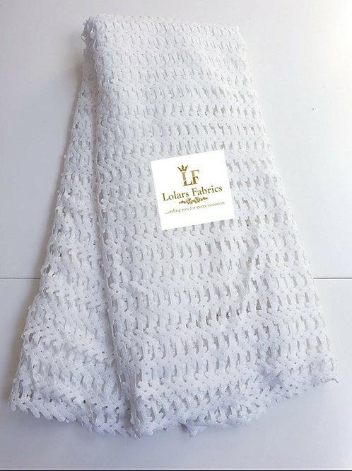 Bimpe white stylish cord lace