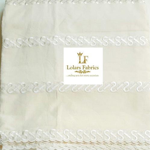 Akanbi Beige Swiss Men's cotton fabric