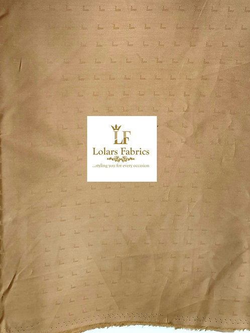 Bayo Golden Brown Men's Fabric