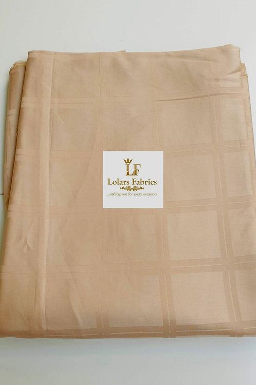 Korede Beige men's fabric