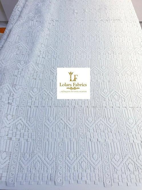Folade White Stylish Cord lace