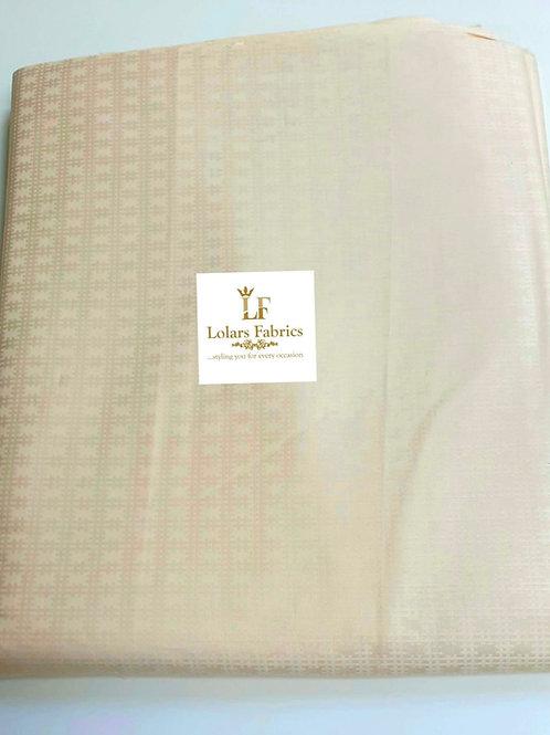 Seni Light Beige men's fabric