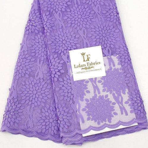 Pretty Lilac on Lilac Budding Lace