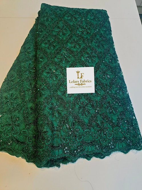 Chrissy Green beaded lace