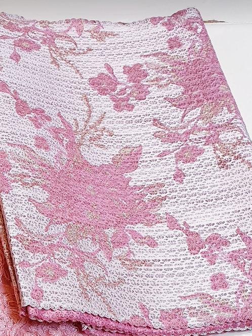 Pink & Gold Luxury gele