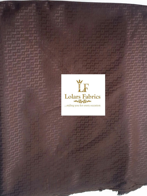 Adewale Brown Men's Fabric