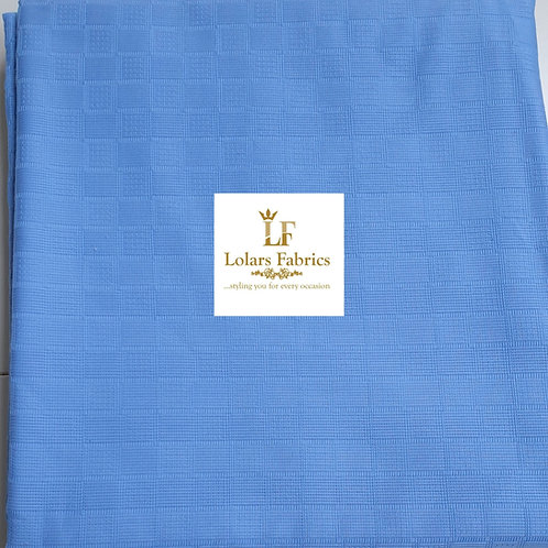 Chief Blue Swiss Men's Fabric
