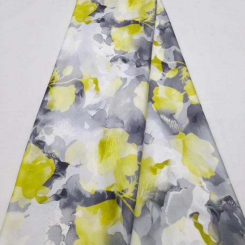 Ever Green Italian Silk Fabric