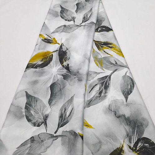 Rafia Italian silk fabric