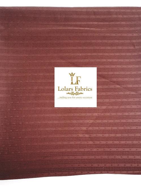 Kolade brown mens swiss fabric