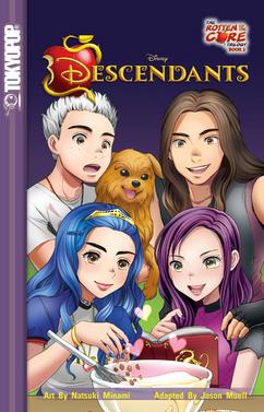 Disney Descendants The Rotten to the Core Trilogy 2
