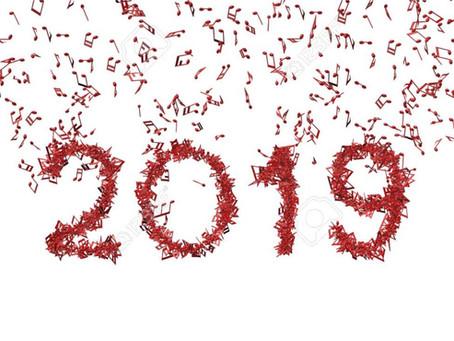 ¡Bienvenido 2019! – enero 2019