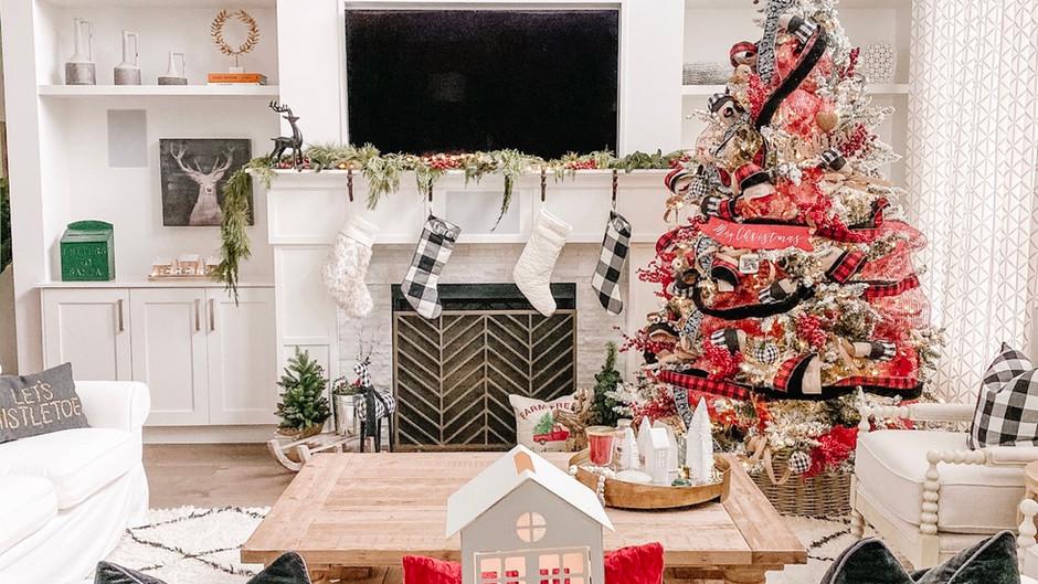 2019 Christmas Home Decor Reveal