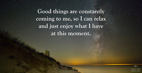 Affirmation for Tuesday, October 27, 2020