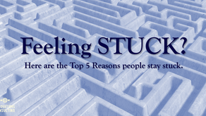 Stuck?  Here are the top 5 reasons people stay there.
