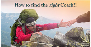 How to find the RIGHT coach?!