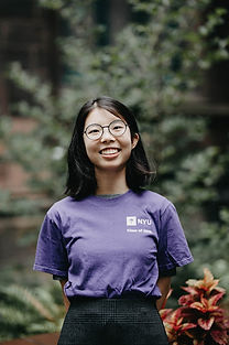 female NYU CAC adviser