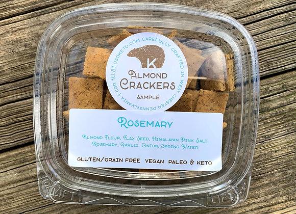 Rosemary Almond Crackers Sample