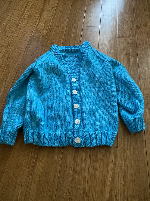 Hand knit sweater - 5T