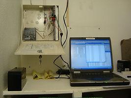 Wireless Alarm control panel