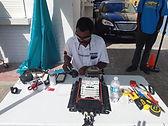 The Specialist fiber optic technician
