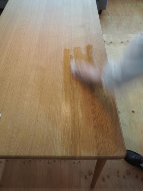 家具のオイルメンテナンス