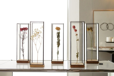 想いの込もった花を永く飾るSHOW CASE
