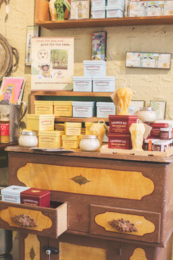 Vermont honey and beeswax products