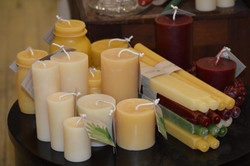 beeswax candles made in vermont