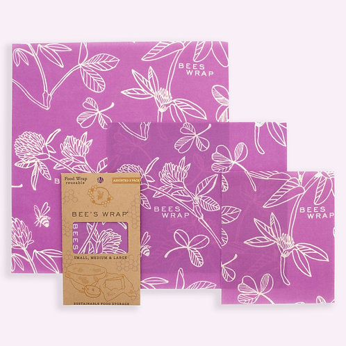 Beeswrap Clover Print
