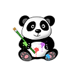 [Original size] The Painting Panda.png