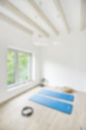 The GREEN HOUSE Meditationsraum