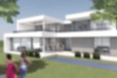 Visualisierung Villa Gartensteite