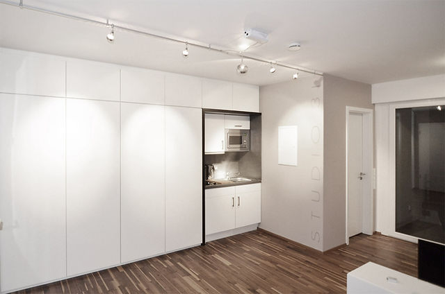 Studio 33 Appartement Innen Pantry