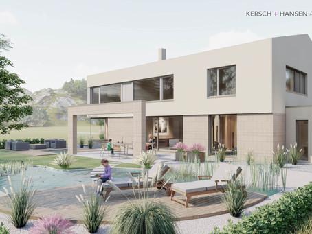 Fakt: Mit einer gut geplanten Gartenarchitektur kommt Ihr Haus erst richtig zur Geltung.
