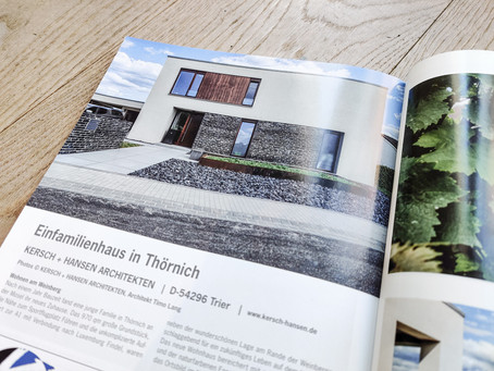 Architecture Européenne -  Winterausgabe 2020 - Einfamilienhaus in Thörnich.