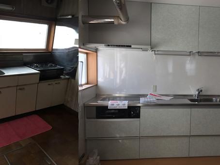 キッチンBefore&After