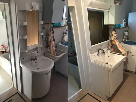 洗面化粧台Before&After