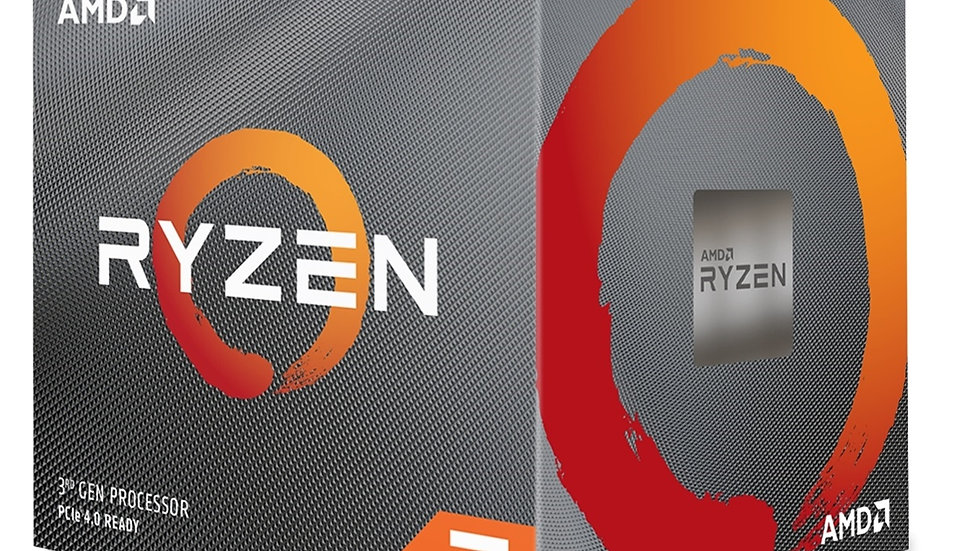 AMD Ryzen 7 3800x 3.9Ghz 8 Core AM4 Overclockable Processor with Wraith Prism Co