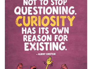 IS YOUR CURIOSITY METER HIGH?