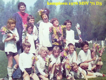 M.S.V.'71-D3 Kampioen 1976